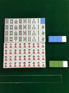Mahjong Tiles (Can be used for electronic mahjong table)