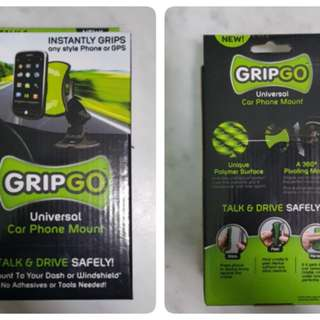 (Reserved) Free! Phone holder for cars. Grip Pro uses adhesive backing.