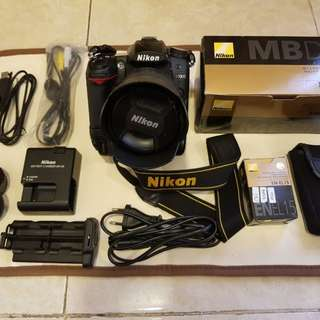 Nikon D7000 Full Kit Original Nikon dan Lensa Nikon 18-105 mm VR SC Rendah