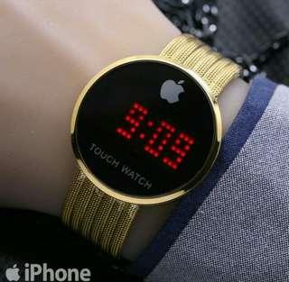 jam tangan iphone unisex digital terbaru/terlaris