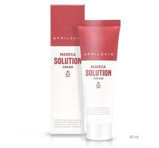 April skin madeca solution cream bnib