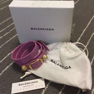 Balenciaga Leather Bracelet 巴黎世家真皮手帶