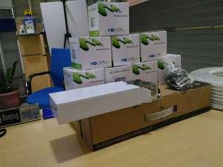 Paket cctv 8 channel analog 8 kamera 1000 tvl