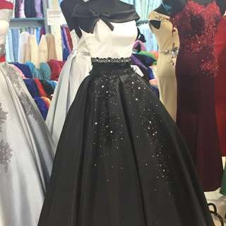 2 Piece Ball Gown For Fent/Sale
