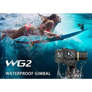 Feiyu WG2 Waterproof Wearable Gimbal Suitable for GoPro HERO 3+, 4, 5, 6, Session, Xiao Yi, SJ cam