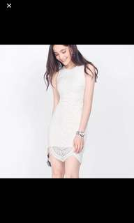 Fayth Gina geometric dress