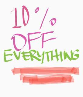 🎉10% off everything! Ends in 1 week!🎉