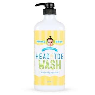 Messy Bessy Baby Head To Toe Wash (500ml)
