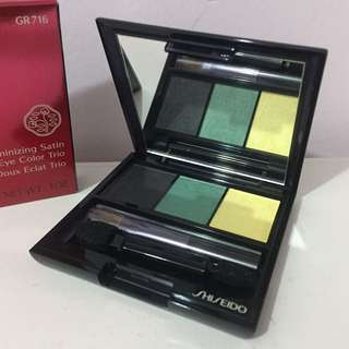 限定2折包郵⏱SHISEIDO Luminizing Satin Eye Color Trio Eyeshadow 資生堂眼影 #gr716
