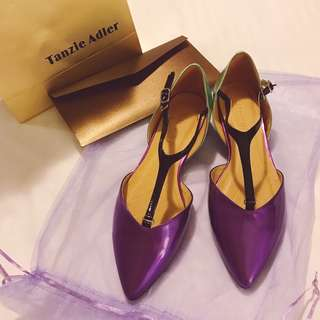Pointed Ballet Flat Shoes