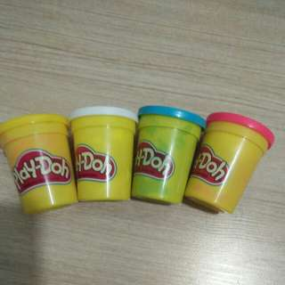 Play-Doh to let go