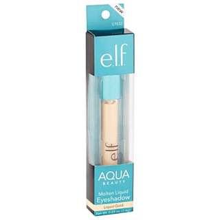 e.l.f. Elf aqua Beauty Molten Liquid Eyeshadow Highlighter Liquid Gold, .09 oz: