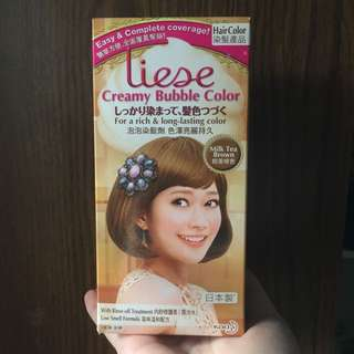 Liese Creamy Bubble Colour Milk Tea Brown