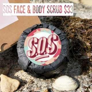 🌷SOS face & body scrub