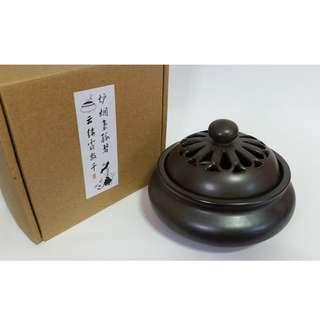 Ceramic Incense Burner 陶瓷復古鏤紋香爐