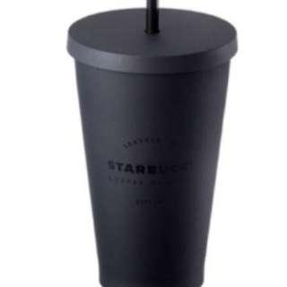 Starbucks Black Matt Cold Cup