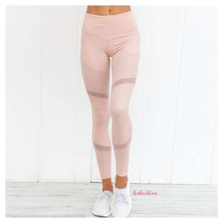 Lovely Pink Yoga / Gym Fitness Pants