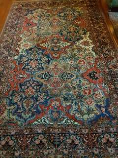 Antique Persian Tribal Carpet