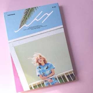 💙 taeyeon why mini solo album unsealed