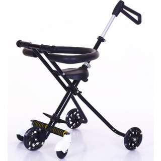 [FREE POSTAGE] Magic Stroller with Flashing Wheels & Security Fence Easy (5 WHEEL) #HOT80