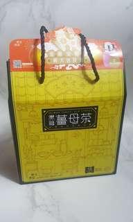 台灣黑金傳奇黑糖薑母茶18粒裝連隨身杯套裝