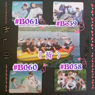 BTS - 專輯卡/YES卡( 拼圖系列十四 )