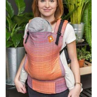 Tula Half Standard Wrap Conversion Carrier- Pucker CDN Weft Herringbone Weave