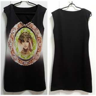 DRESS bodycon ( fit to M )