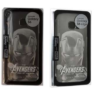 Samsung x Marvel Avengers GALAXY S6 / S6 EDGE Clear Cover復仇者聯盟角色專屬透明背蓋保護殼: G9200, G9208, G920F, G920I, G9250, G925F