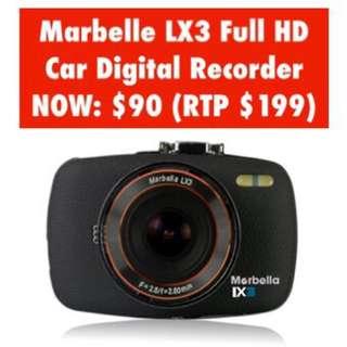 Marbella LX3 Car Digital Recorder