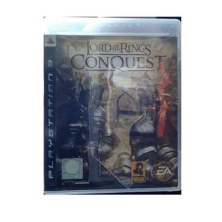 PS3 Lord Of The Rings Conquest Game