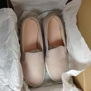 Ladies baby pink Lacoste shoes