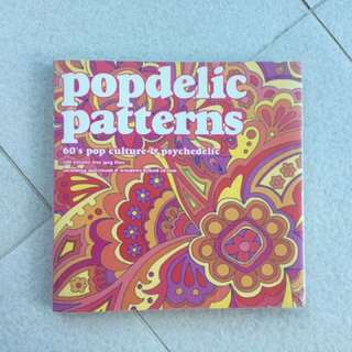 Popedelic patterns book with CD