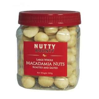 Nutty Bounty澳洲夏威九果仁原粒鹽烤味300g