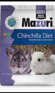 Mazuri Chinchilla Diet / Pellets 25 lbs (11.25 kg)