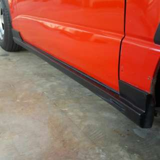Toyota hiace essex side skirt