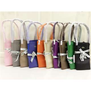 Lacoste Tote Big and Sling Bag Set