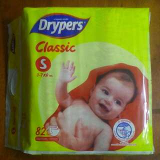 Drypers Classic 'S' Size 82