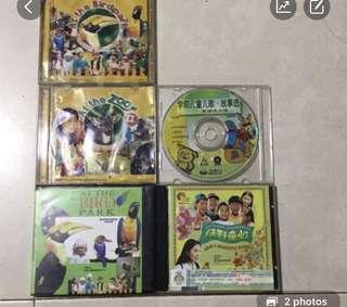 Children eduction VCD each $25, 5pcs $100