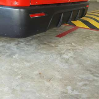 Toyota hiace essex rear bumper