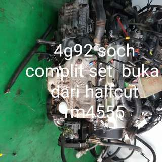 Engine 4g92 soch spec m24