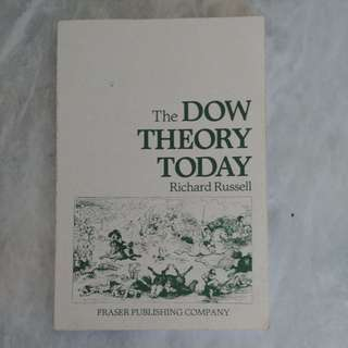 The Dow Theory Today by Richard Russell