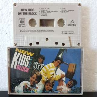 Cassette》New Kids On The Block