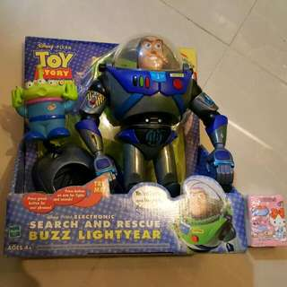 Disney Toy Story 反斗奇兵 巴斯光年 三眼仔 Buzz ALIENS Toystory 火箭