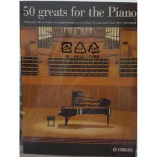 Yamaha: 50 greats for the Piano (New)