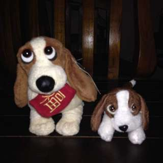 Baby dog soft toys
