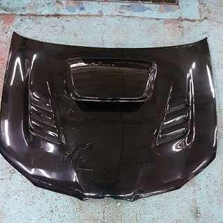 Subaru O7 Hawkeye Carbon fibre bonnet