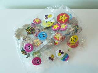 Assorted Smiley Badges (MOVING OUT CLEARANCE!!)