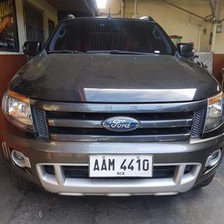 2014 Ford Ranger Wildtrak 4x4
