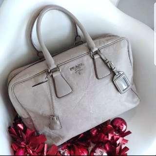 Authentic PRADA Bauletto Leather tote bag